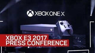 Everything revealed at Microsoft's E3 2017 Xbox press conference