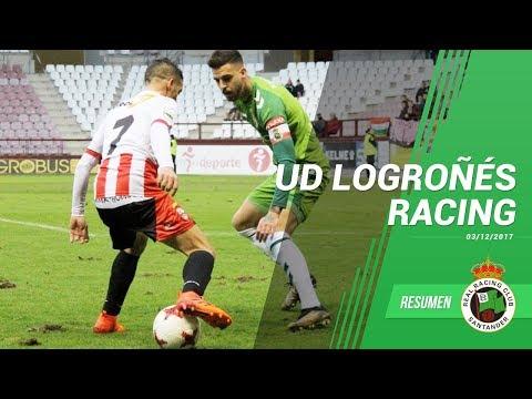 Resumen UD Logroñés Racing 3 diciembre 2017