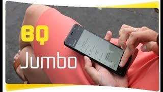 Понравился! BQ 6001L Jumbo Black - Обзор Недорогого Смартфона
