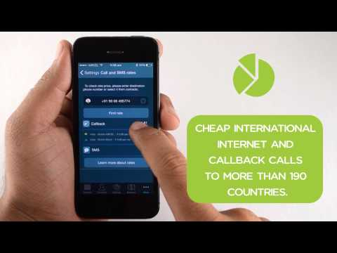 Callbacker - cheap international call and SMS from your mobile phone!