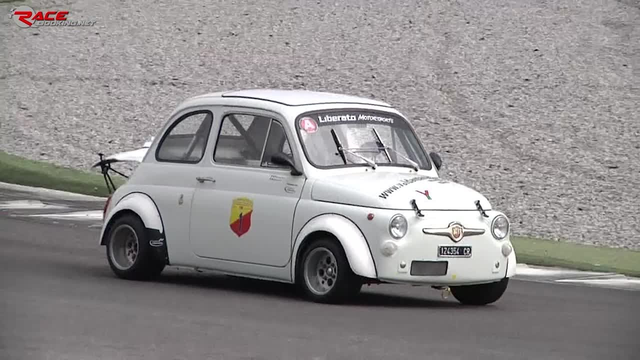 Fiat Abarth 595SS (Historical) sound on track - Bruno Banetti ...