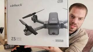 Drone GPS VIRHUCK Z5 Partie 1 UnBoxing *NOEL*