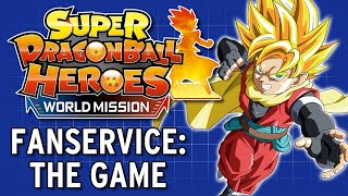 Gambar cover TeamFourStar Plays Super Dragon Ball Heroes: World Mission - TFS Gaming