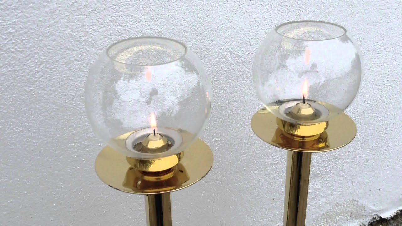 Br Processional Candles Spring Loaded