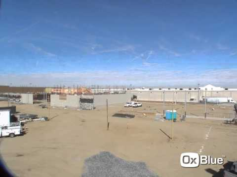 Dunia Plaza, Victorville, CA - Time lapse video of the start of construction