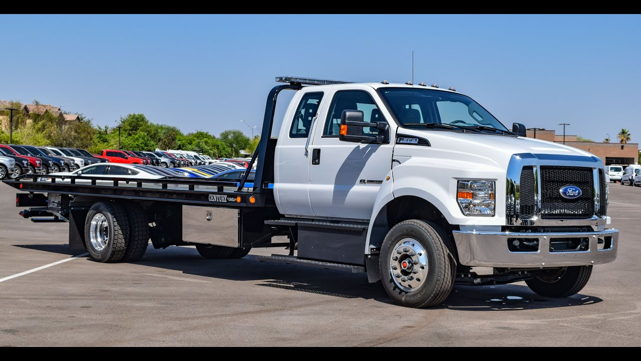 medium resolution of 2016 ford f 650 century rollback tow truck walkaround