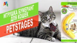 ИГРУШКА ДЛЯ КОШЕК ЖЕЛТЫЙ БУМЕРАНГ PETSTAGES | Cat's Toy Review