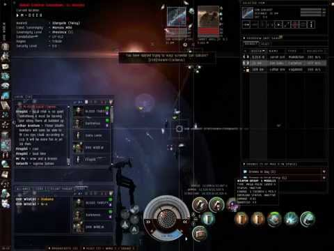 Eve online Burning Eve 5 Final (nightmare)