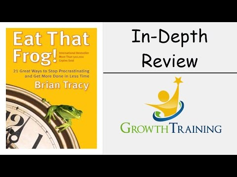 Eat That Frog Review - Stop Procrastinating!