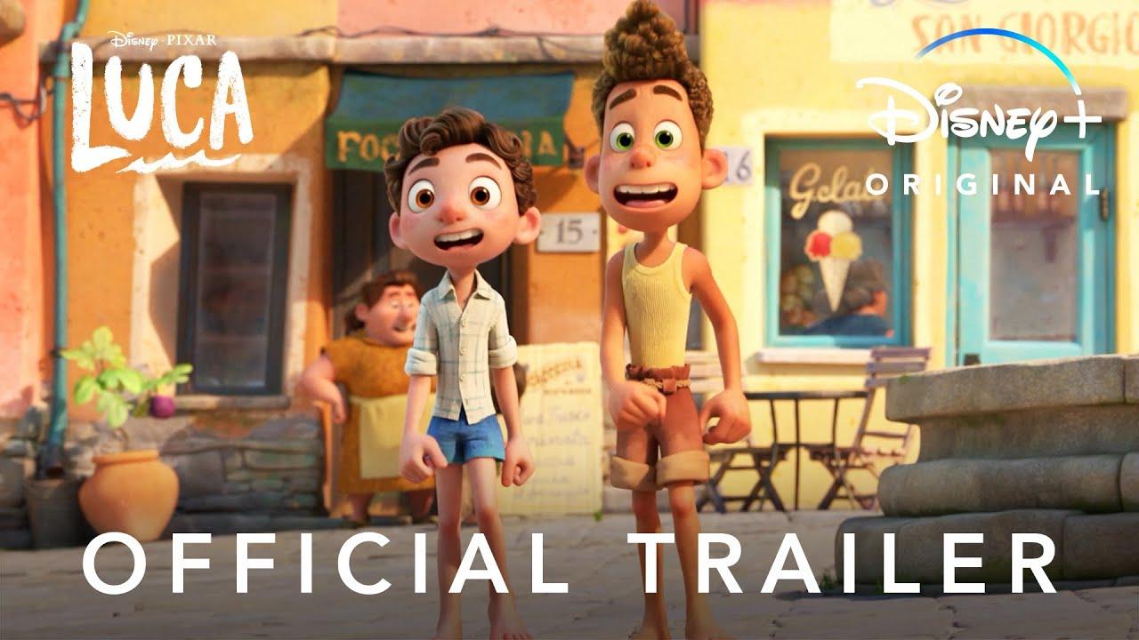 NEW MOVIE ALERT: Disney and Pixar's Luca | Official Trailer | Disney+