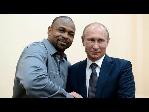 Roy Jones Jr. asked Russian President Vladimir Putin for Citizenship & Passport!
