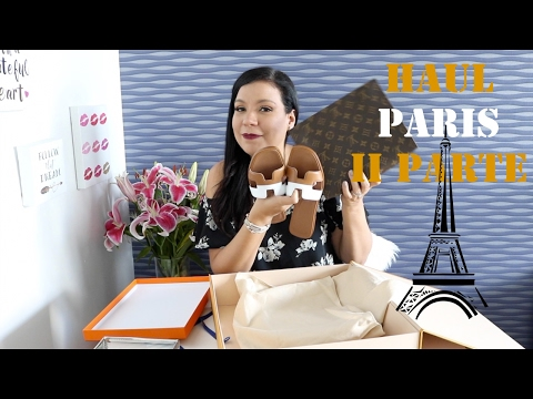Paris Haul/Unboxing II Parte: Hermes, Louis Vuitton y Dior