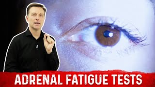 Two Simple Tests for Adrenal Fatigue