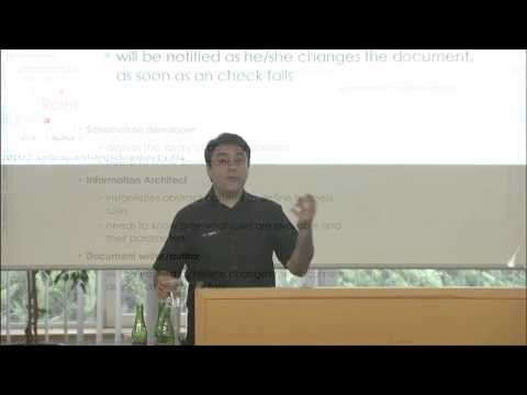 George Bina (Syncro Soft/oXygen XML Editor): Schematron for Information Architects
