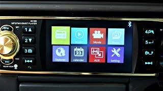 Quick Unbox + Table test of My New Bluetooth HD Car Stereo 60$