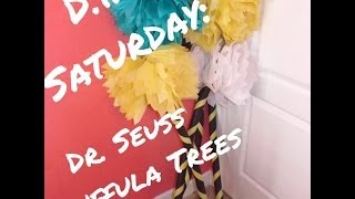 D.I.Y Saturday: Dr. Seuss- Truffula Tree