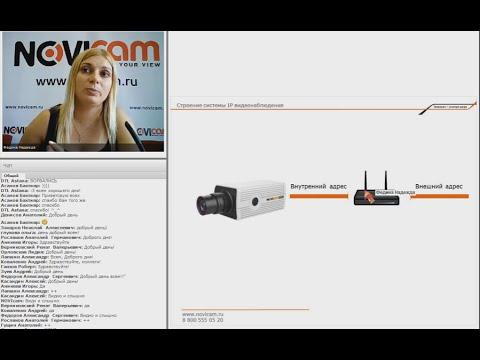 Камеры видеонаблюдения, IP-камеры NOVIcam: купить в Москве