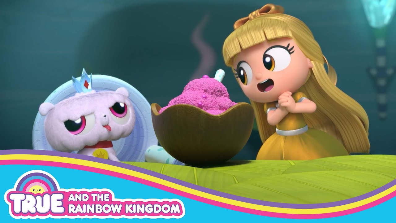 Grizelda Cleans Up the Yeti's Cave! 🌈 True and the Rainbow Kingdom 🌈