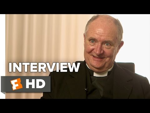 Brooklyn Interview - Jim Broadbent (2015) - Saoirse Ronan, Domhnall Gleeson Movie HD