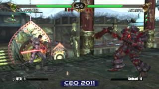 RTD vs Suirad CEO 2011 Soul Calibur 4 Grand Finals