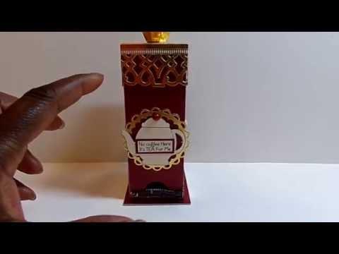 Tea Box Holder Set - The Cutting Cafe Design Team Project