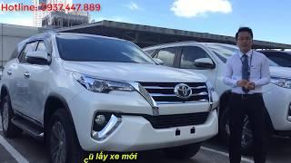 Xe Toyota Fortuner 2019 máy dầu 2 cầu số tự động giá tốt giao ngay