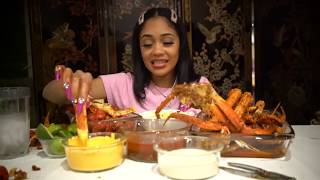 SAWEETIE DOES FIRST EVER ASMR + *JUICY* SEAFOOD MUKBANG !!!
