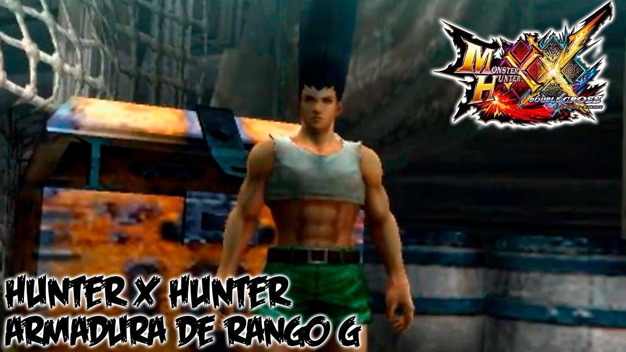 Monster Hunter Double Cross [MHXX]   Hunter x Hunter DLC Armor Set   Español