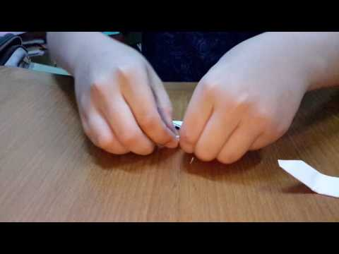 How to make a paper kunai (EASY beginners)