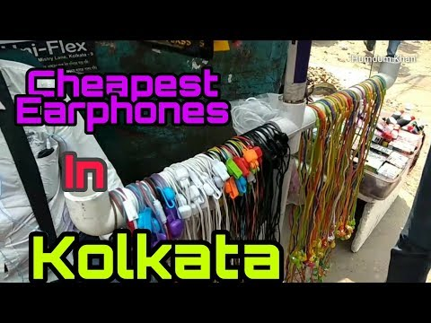 Buying Cheapest Earphones In Kolkata | Chor Bazaar| Masti Around College Street
