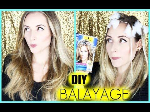 DIY Balayage Ombre, Haare selber färben/ auffrischen »Lalalunia«