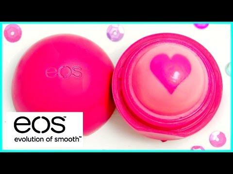 DIY EOS lip balm: heart design!! EASY