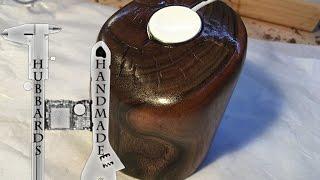 Black Walnut Apple Watch Dock