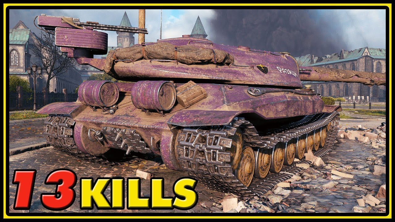 Object 705A - 13 Kills - World of Tanks 1.0 Gameplay