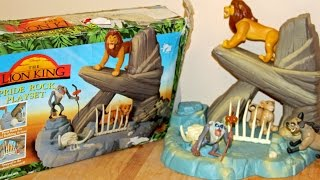 LION KING Pride Rock Playset - Mattel Deluxe Toy Review 👈