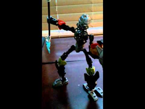 Bionicle kanohi heroes review:devourer