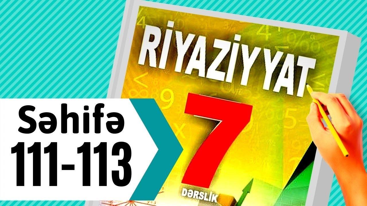 6 ci sinif Azərbaycan dili səh:111.Mürəkkəb feillər
