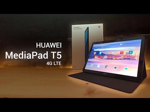 Huawei MediaPad T5 - 4G LTE | Οικονομικό Tablet για όλα - Review Greek
