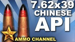 AMMOTEST: 7.62x39 Armor Piercing Incendiary