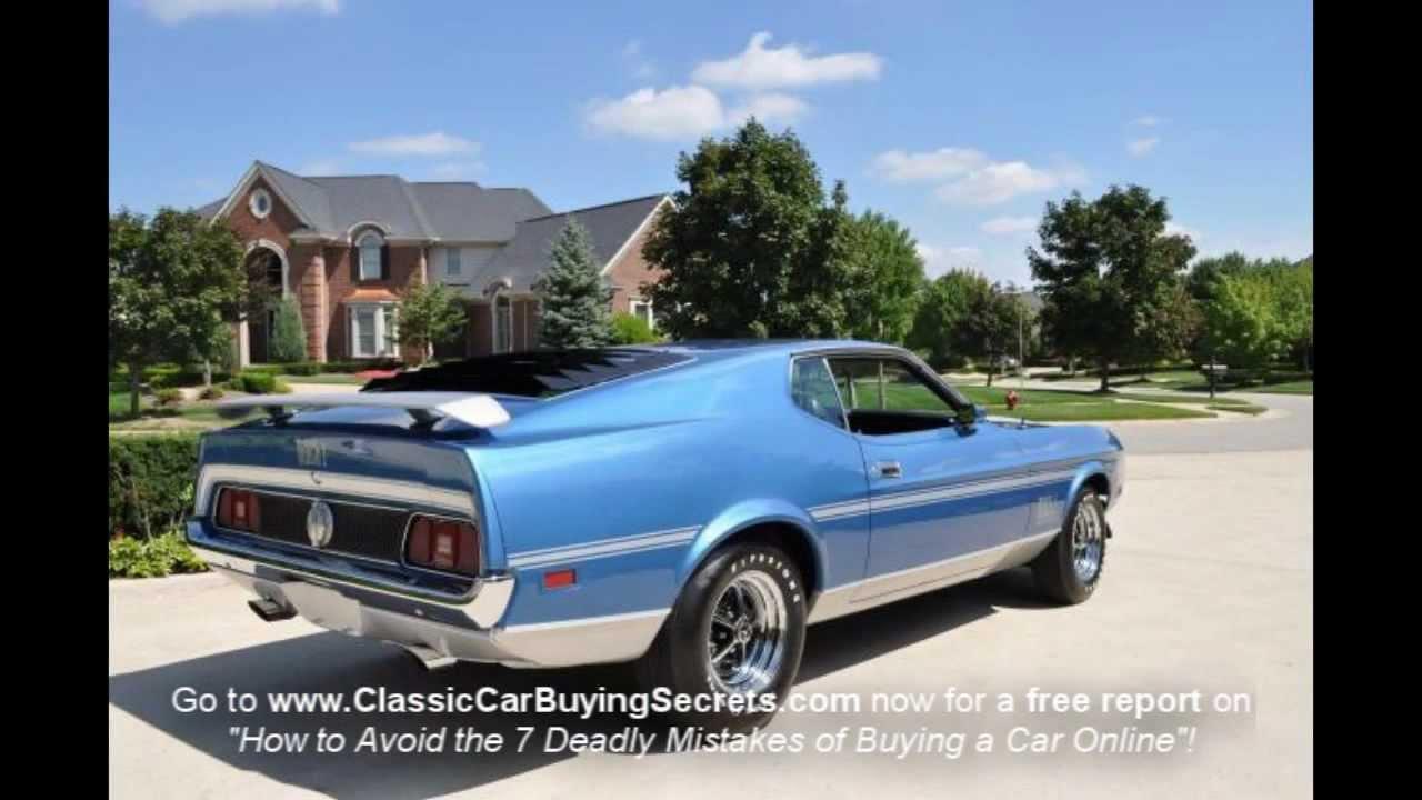 Ford Mustang Years To Avoid Steve McQueens original Mustang Bullitt ...