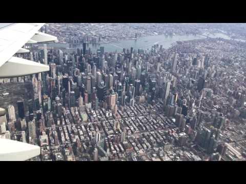 Landed in LGA New York City