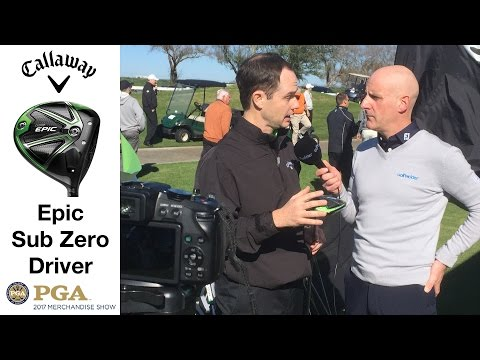 Callaway Epic Sub Zero Driver, Five Must Know Features From The Designers!!
