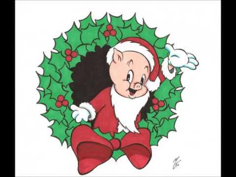 Porky Pig - Blue Christmas