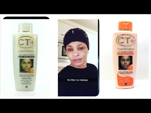 Ct t lotion lightening review