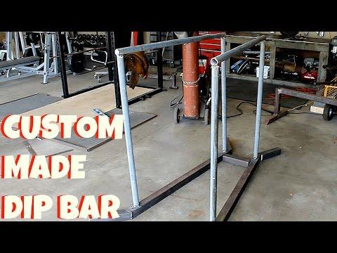 Custom Made Dip Bar