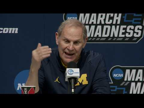 Watch Michigan's full First Round NCAA tournament press conference
