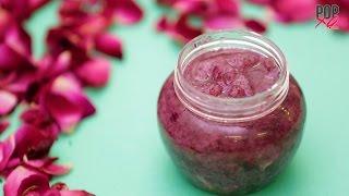 DIY: Rose Petals And Sugar Scrub - Homemade Body Scrub - POPxo