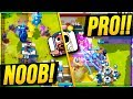 Clash Royale 2v2 with RANDOMS vs PRO TEAM MATES!?