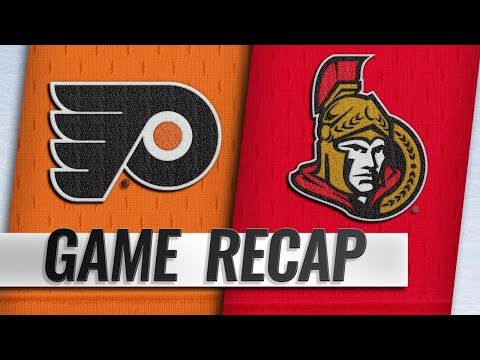 Voracek's five-point game powers Flyers past Senators