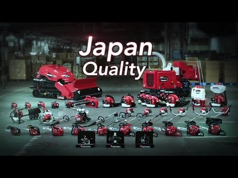 ZENOAH - Made in Japan & Japan Quality